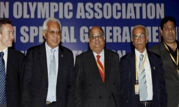 Embattled Indian Olympic Association chief N Ramachandran says will take up suspension with govt