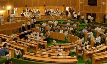 Jammu and Kashmir Assembly: Stormy start of Budget Session, national anthem disrespected by protests