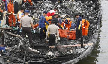 23 killed, 17 still missing in Indonesia boat fire mishap