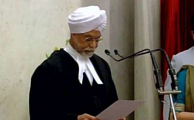 Justice JS Khehar takes oath as 44th Chief Justice of India - (source: ANI)
