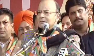 Congress only indulged in vendetta politics and blame-game, says Arun Jaitley in Punjab