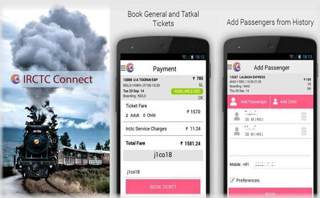 Suresh Prabhu launches new IRCTC Rail Connect app for faster railway