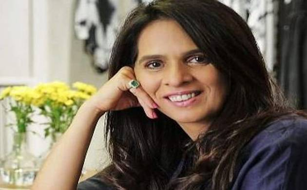 Designer Anita Dongre showcases few pieces of her Rajasthan inspired LFW line (Image: Twitter)