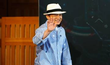Jackie Chan says he gets scared to perform stunts in action films