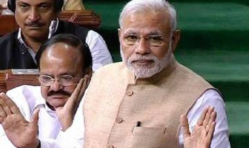 Budget Session: Congress MPs walk out of LS over PM Modi's 'raincoat' remark against Manmohan Singh