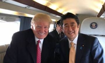 Donald Trump, Japanese PM Abe pledge to strengthen US-Japan relationship