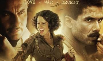 'Rangoon' diaries: Kangana Ranaut talks about her chemistry with Saif Ali Khan, Shahid Kapoor