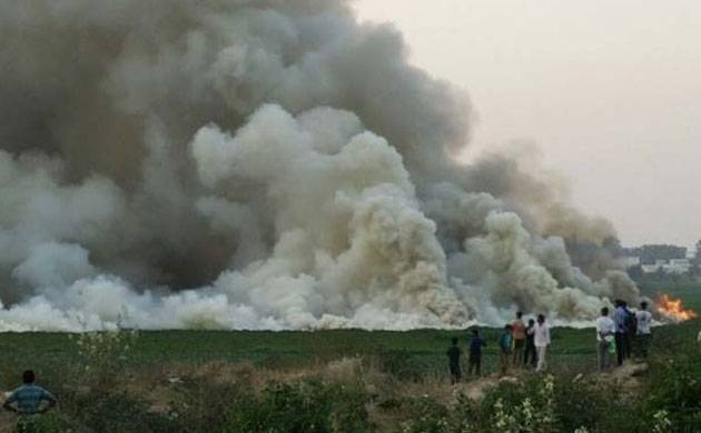 Bengaluru's Bellandur lake catches fire: Drivers swerve, toxic sky of smoke over city