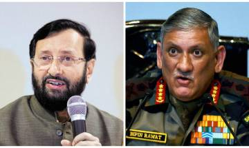 Army chief Kashmir remark: Javadekar asks Opposition not to politicise armed forces