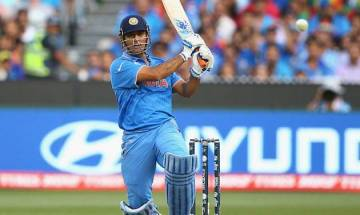 Jharkhand captain MS Dhoni motivates teammates in unique style