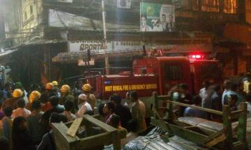 Video | Fire at Kolkata's Burrabazar market: 25 fire engines at spot, residents evacuated