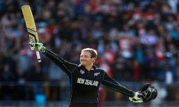 Martin Guptill's scintillating 180-run knock powers New Zealand to seven wicket win over South Africa in 4th ODI