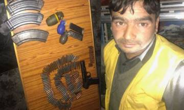 J-K: Arms, ammunitions recovered during search operation in Uri, driver arrested