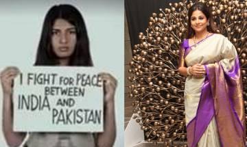 Gurmehar Kaur row:Vidya Balan feels people should respect others' freedom of expression