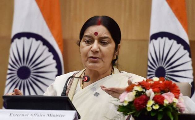 EAM Swaraj expresses grief over Sikh man shooting in US (File Photo)