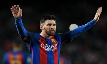 Messi's double strike powers Barcelona to 5-0 thumping win over Celta Vigo in Spanish League