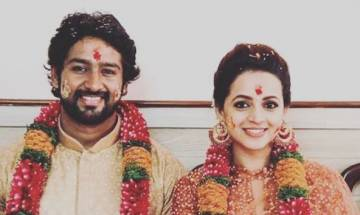 Actress Bhavana Menon gets engaged to Kannada producer Naveen; marriage set to happen later this year