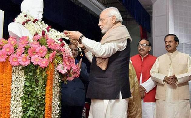 Will make an India that will make Gandhi Ji, Sardar Patel & Dr Babasaheb Ambedkar proud: PM Modi (File Photo)