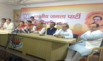 Delhi Municipal elections: No ticket to any sitting councillors, says Manoj Tiwari