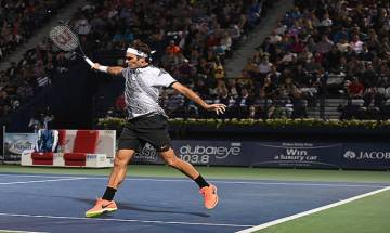 BNP Paribas Open: Roger Federer clinches hard-fought 7-6, 7-6 victory over Steve Johnson, set up 4th round clash with Nadal