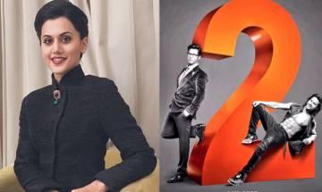 'Judwaa 2': Taapsee Pannu reveals reason of doing Varun Dhawan-starrer