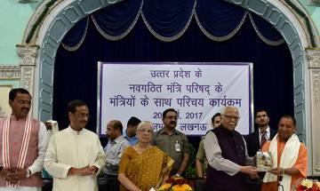 BJP Govt's Day 1: UP CM Yogi Adityanath meets Governor, likely to distribute portfolios soon