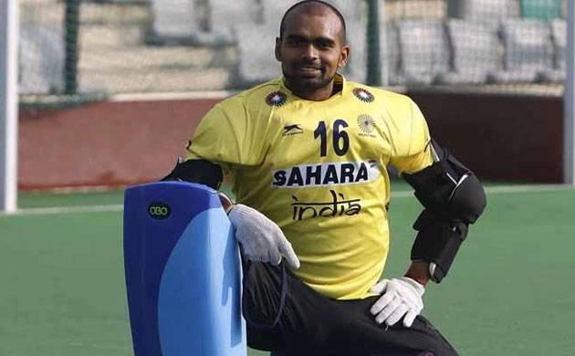 Indian hockey captain PR Sreejesh