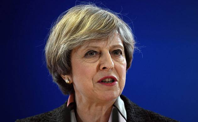 UK Prime Minister Theresa May (Getty images)