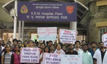 Video |  Maharashtra resident doctors continue strike on sixth day; services paralysed