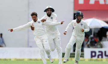 India vs Australia, Dharamsala Test: Spinners bundle Baggy Greens for 300; Kuldeep Yadav shines with 4-wickets