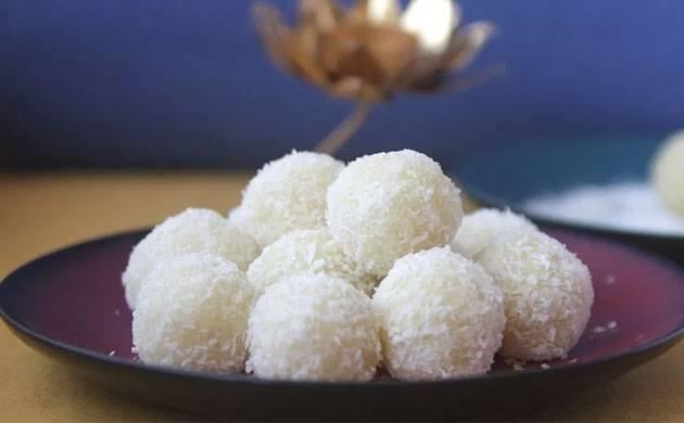 Navratri Special: Coconut Ladoo recipe in 5 simple steps