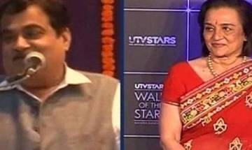 I was hurt by Nitin Gadkari's remarks: Asha Parekh