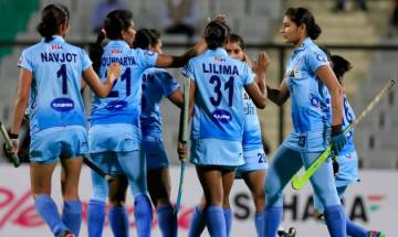 Women's Hockey World League: Indian team thrash Belarus 4-0 to sail into finals