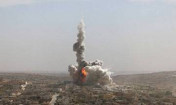 US drops biggest non-nuclear bomb at ISIS targets in Afghanistan, says Pentagon