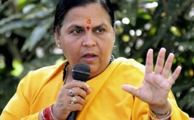 Union Water Resources and River Development Minister Uma Bharti (File Photo)