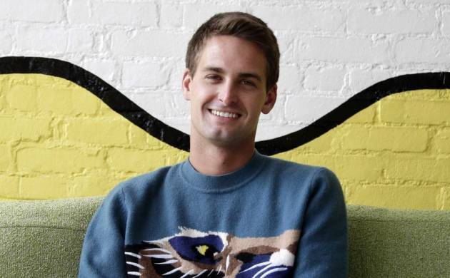 A file photo of Snapchat CEO Evan Spiegel.