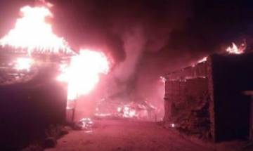 Jammu: SSB camp office, 45 shops gutted in massive fire in Bhaderwah