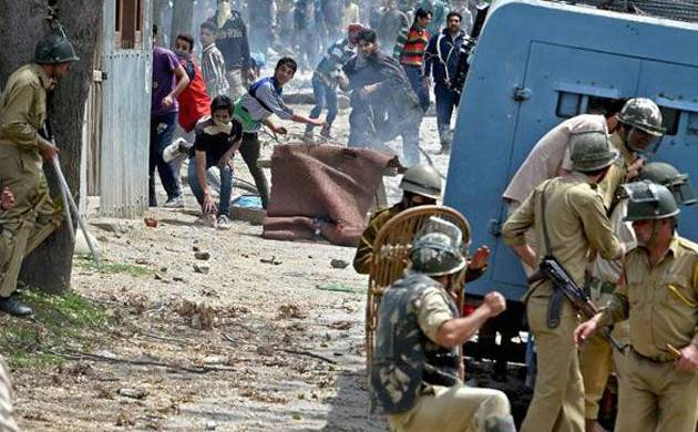 Stone-pelting in Kashmir (File photo: PTI)