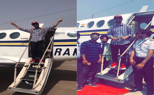 Diljit Dosanjh receives 'cute' reactions from his fans for his new private jet (Img Source: Twitter)