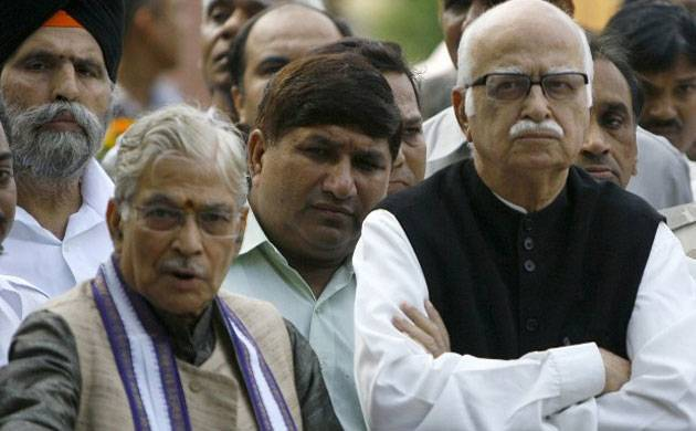 LK Advani and Murli Manohar Joshi