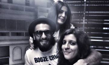 Priyanka Chopra enjoys home coming party with Ranveer Singh, Zoya Akhtar