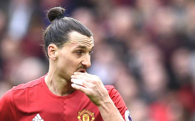 Ibrahimovic suffers knee injury in Europa League clash (Photo: PTI)