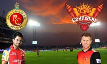 IPL 2017   RCB vs SRH, Score: Royal Challengers Bangalore and Sunrisers Hyderabad match abandoned by rain
