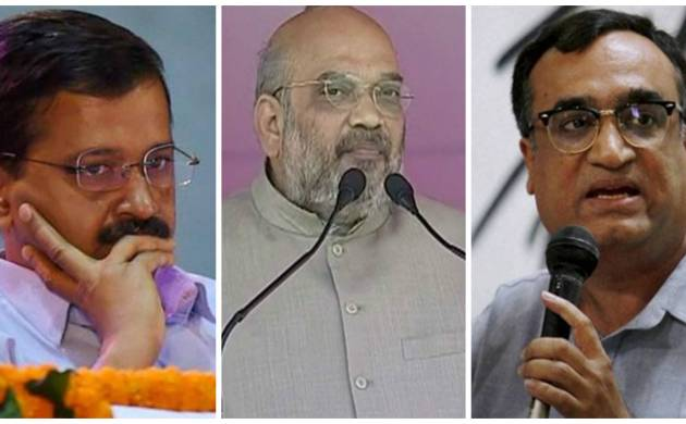Delhi MCD election results 2017: BJP, AAP fight to maintain stronghold, Congress hopes for resurgence (File Photos)