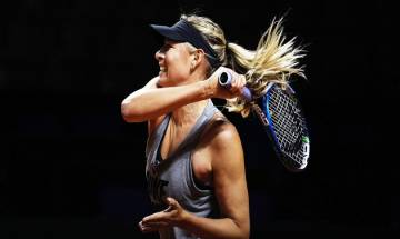 Post 15-month doping ban, Maria Sharapova is back with a bang!