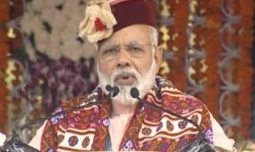 PM Modi in Shimla: 'BHIM app can transform the way we transact, urge everyone to encourage digital transactions'