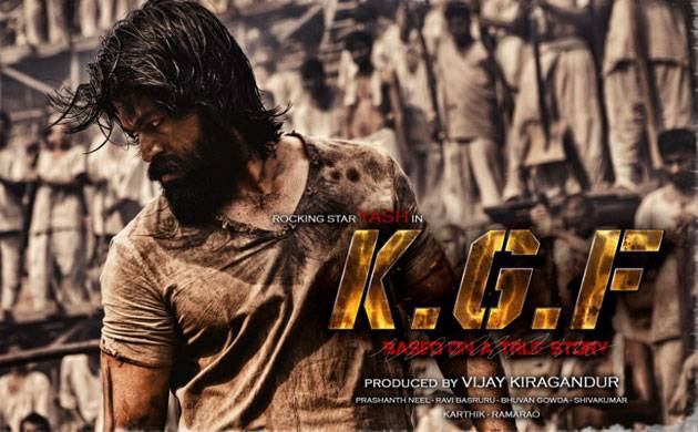 Karthik Gowda Releases First Look Of Yash S Kgf Www Newsnation In