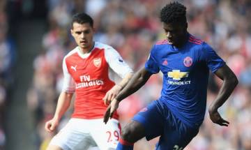 Premier League: Granit Xhaka and Danny Welbeck score goals as Arsenal defeat Manchester United 2-0