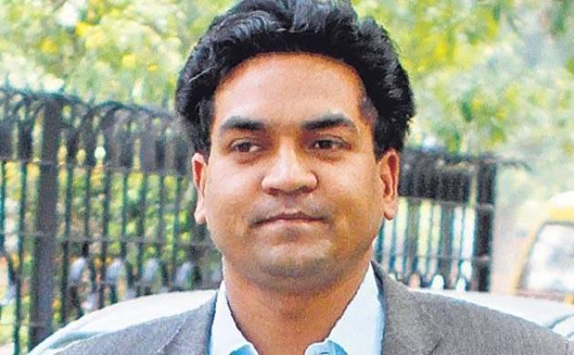 A file photo of Delhi Water Minister Kapil Mishra.