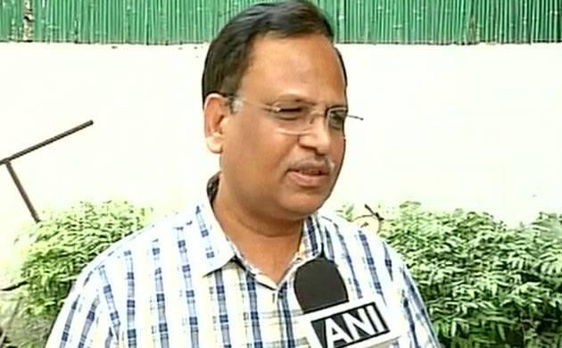 Delhi Health Minister Satyendar Jain (Image: ANI)